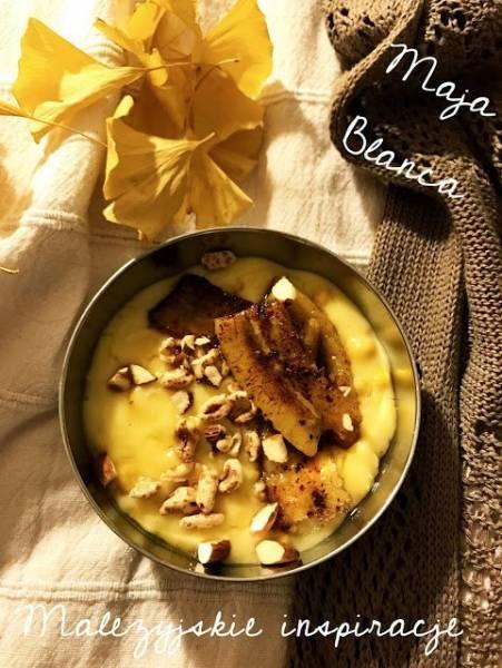 Maja blanca, czyli moja wersja puddingu z kukurydzy