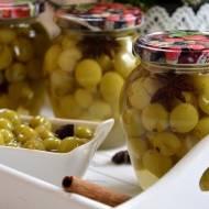Kompot winogronowy z miodem i anyżem