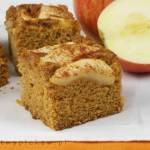 Dyniowe ciasto z jabłkami