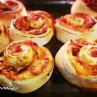 Bułeczki pizza (ślimaczki)