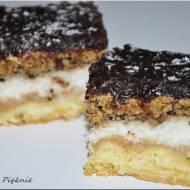 Ciasto kokosowo- orzechowe