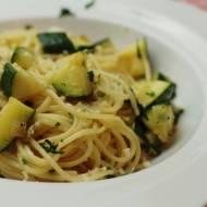 Spaghetti z cukinią