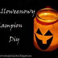 Halloweenowy lampion DIY