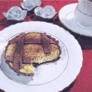 Tartaletki kakaowe z kremem śmietankowym