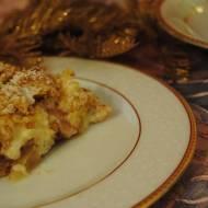Jabłecznik z budyniem i kruszoną (ciasto z jabłkami)