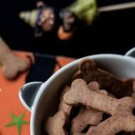 Kasztanowo - orkiszowe kruche ciasteczka bez cukru