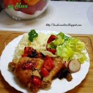 Rumiany kurczak w warzywach wg Aleex