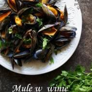 Mule w winie, mejillones a la marinera