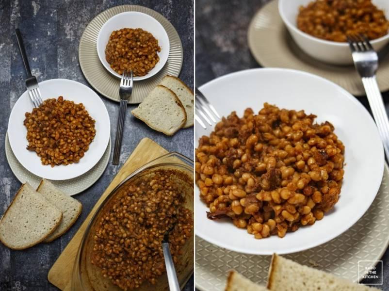 Baked Beans – pieczona fasolka