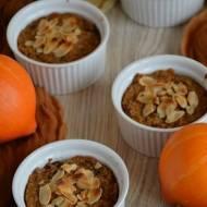Jesienny deser z kaszą jaglaną i dynią