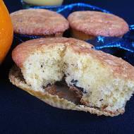 Babeczki czekoladowo - pomarańczowe