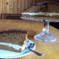 ciasto  z dyni  przekładane kremem