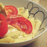 Makaron w sosie serowo - ziołowym