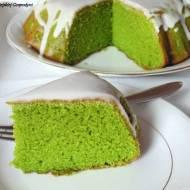 Babka na zielono