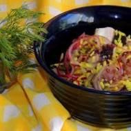 Sałatka z ośmiornicy z ryżem