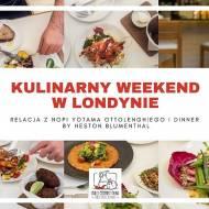Co jadłam u Yotama Ottolenghiego i Hestona Blumentala, czyli Londyn cz.2 + Linkowe Party