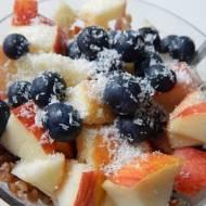Kasza gryczana na ciepło z owocami