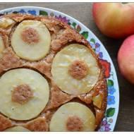 Korzenne, orkiszowe, odwrocone ciasto z jablkami czyli poWeekendowe Lakocie odc.137