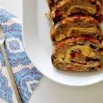 Rolada z mięsa mielonego z omletem i warzywami