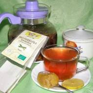 zdrowa i smaczna bio herbata owocowa z trawą cytrynową...