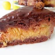 Tort czekoladowo-jabłkowy (Torta di cioccolato e mele)