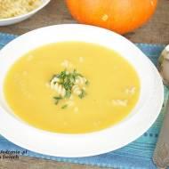 zupa krem z dyni z makaronem