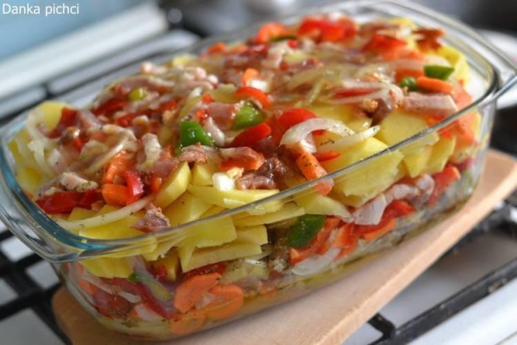 Karkówka z warzywami (po flisacku) wg Ewy Wachowicz