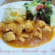 Pyszny sos z kurczaka wg Aleex