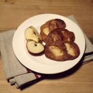 Placuszki dyniowe z jabłkami na leniwe śniadanie