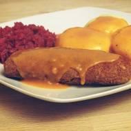 Wegetariański obiad po śląsku