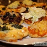 Mini pizza w4 smakach (wersja II)
