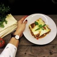 Włoski klasyk - Lasagne - Boczek & Wino & Mleko