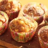 Maffinki z płatkami owsianymi i jabłkami