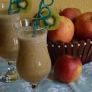 Sok jabłkowy z kiwi i bananem
