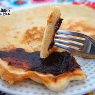 Puszysty omlet z otrębami i mielonym ostropestem (bez proszku do pieczenia)
