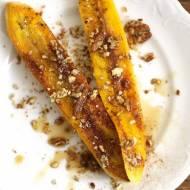 Smażone plantany – prosty i efektowny deser