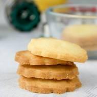 Trójskładnikowe ciasteczka maślane