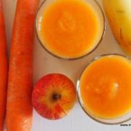 Domowy Kubuś  - jabłko, banan i marchew