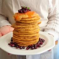Dyniowo-jabłkowe pancake (Pancake alla zucca e mela)