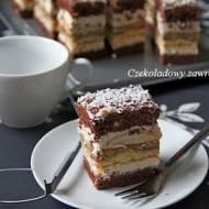 Ciasto rumowe z mascarpone i kajmakiem