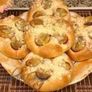 Drożdżówki ze Śliwkami – Ciasto Drożdżowe z Olejem