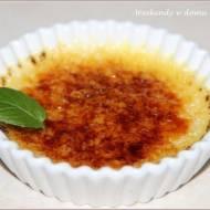Waniliowy crème brûlée i
