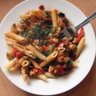 Makaron z szpinakiem / Healthy Spinach Pasta