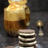 Oreo, domowe ciasteczka z masą śmietankową