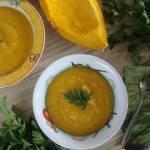 Zupa krem z dyni i batata dla dzieci