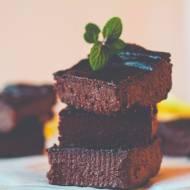 Czekoladowe brownie z cukinii (bez mąki, glutenu)