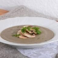 Svampsoppa – szwedzka zupa grzybowa