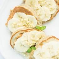 Bananowe placki śniadaniowe .