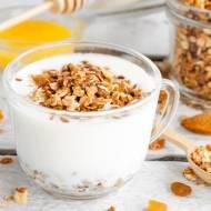 Bezglutenowa domowa granola