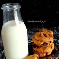 Ciasteczka czekoladowo-kukurydziane